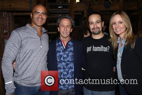 Christopher Jackson, Brian Grazer, Lin-manuel Miranda and Dana Walden 1