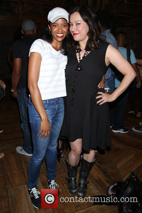 Renee Elise Goldsberry and Jennifer Tilly 2