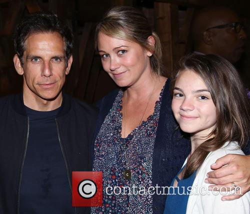 Ben Stiller, Christine Taylor and Ella Olivia Stiller 1