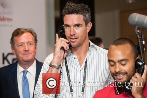 kevin Pietersen and Piers Morgan 2