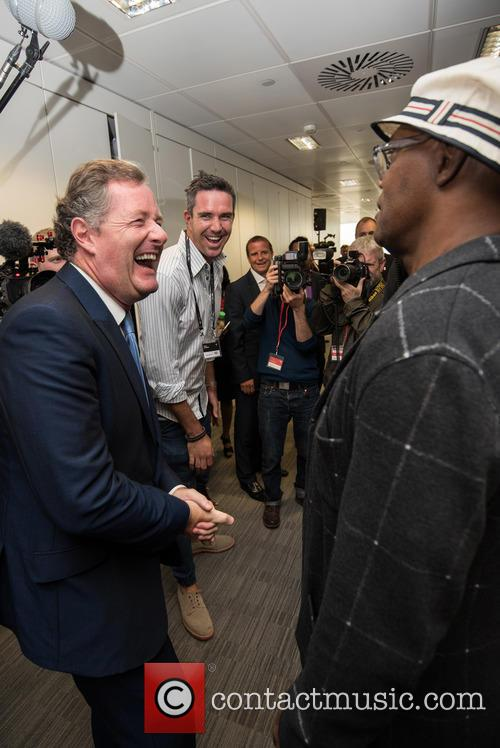 kevin Pietersen, Piers Morgan and  samuel L Jackson 1