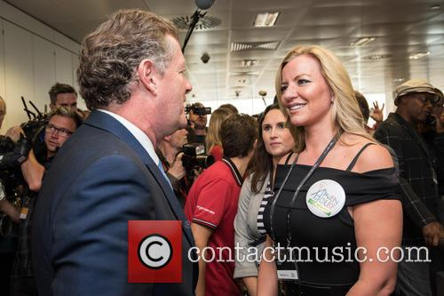 Piers Morgan and Michelle Mone 1