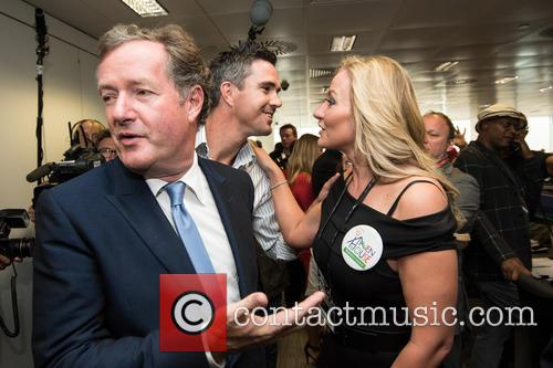 kevin Pietersen, Piers Morgan and Michelle Mone 2