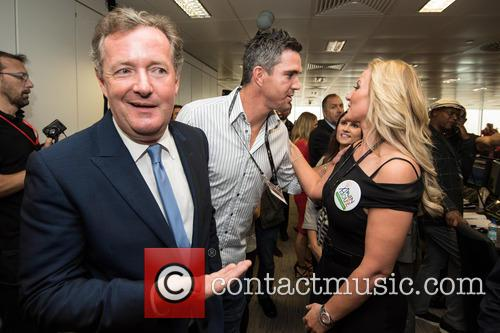 kevin Pietersen, Piers Morgan and Michelle Mone 1