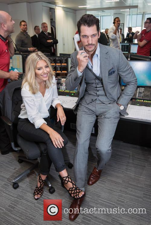 Mollie King and David Gandy 4