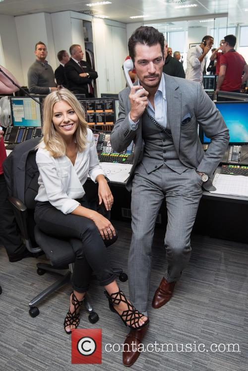 Mollie King and David Gandy 5