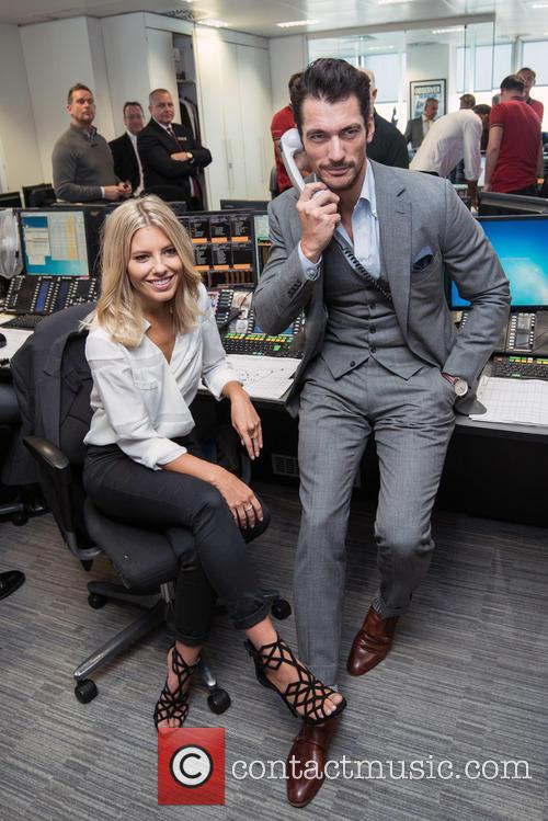 Mollie King and David Gandy 6