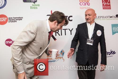 Jonathan Ross and Sir Ben Kingsley 5