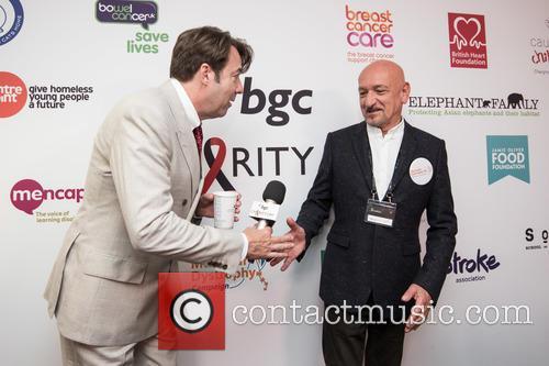 Jonathan Ross and Sir Ben Kingsley 1