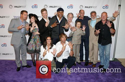 Chris O'donnell, Renée Felice Smith, Barrett Foa, Ll Cool J, Miguel Ferrer, Shane Brennan, Daniela Ruah, Eric Christian Olsen and Linda Hunt 2