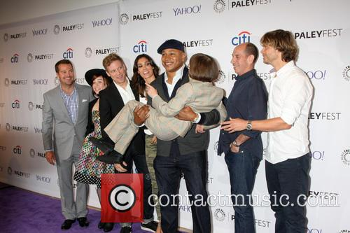 Ncis La Cast, Chris O'donnell, Renee Felice Smith, Barrett Foa, Daniela Ruah, Ll Cool J, Miguel Ferrer, Linda Hunt and Eric Christian Olsen 2