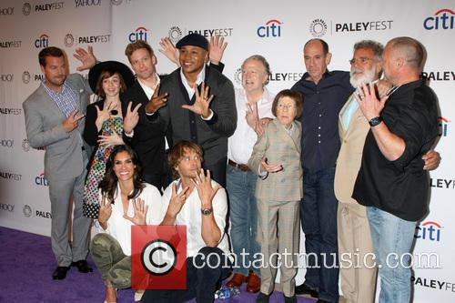 Ncis La Cast With Executive Producers 1