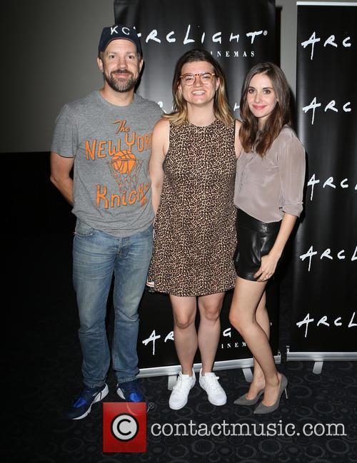 Jason Sudeikis, Leslye Headland and Alison Brie 2