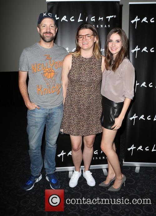 Jason Sudeikis, Leslye Headland and Alison Brie 3