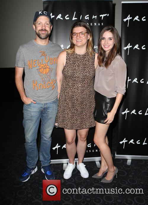 Jason Sudeikis, Leslye Headland and Alison Brie 4