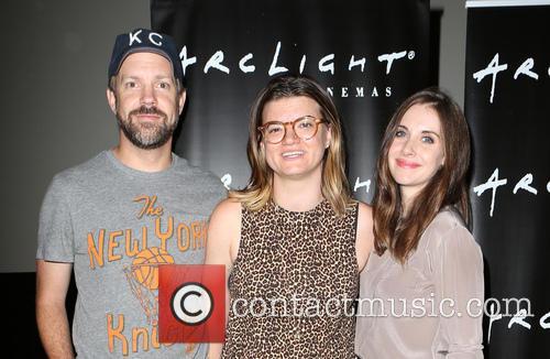Jason Sudeikis, Leslye Headland and Alison Brie 5