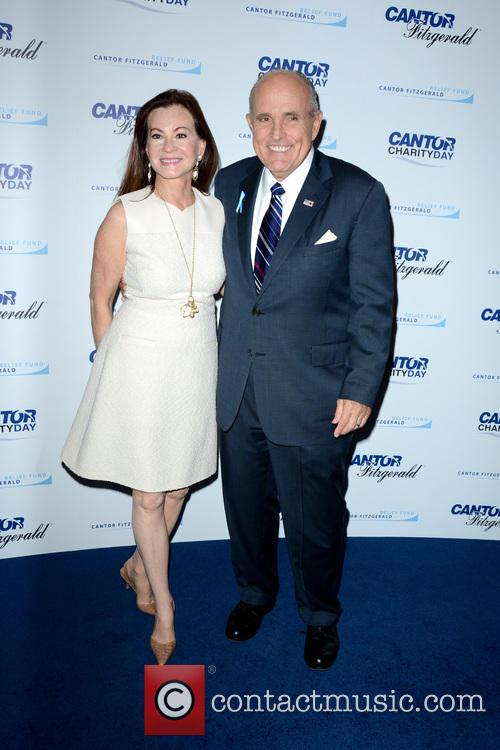 Judith Giuliani and Rudy Giuliani
