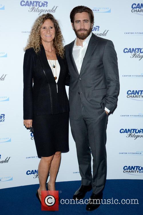 Edie Lutnick and Jake Gyllenhaal 1