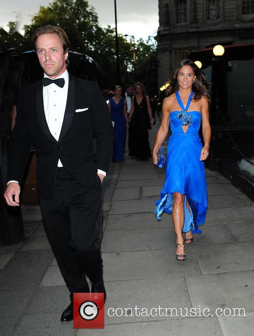 Pippa Middleton arrives at the Boodles Boxing Ball