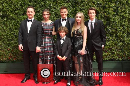 Ben Savage, August Maturo, Rowan Blanchard, Peyton Meyer, Sabrina Carpenter and Corey Fogelmanis