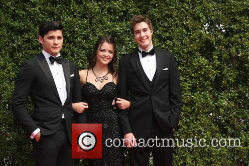 Actors Ricardo Hoyos, Ana Golja and Eric Osborne 1