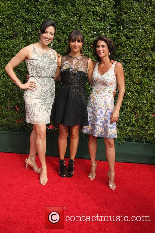Jill Bauer, Rashida Jones and Ronna Gradus 1