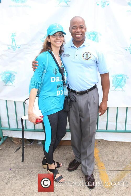 T.e.a.l. Co-founder, Ceo  Pamela Esposito-amery and Brooklyn Borough President Eric L.adams 1