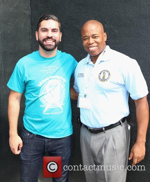 Rafael Espinal and Brooklyn Borough President Eric L.adams 1
