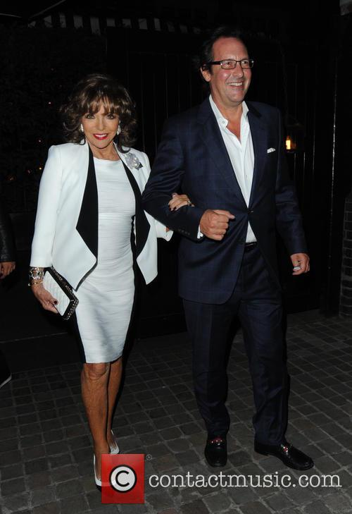 Joan Collins and Percy Gibson 7