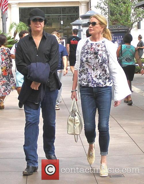 Gene Simmons and Shannon Tweed 1