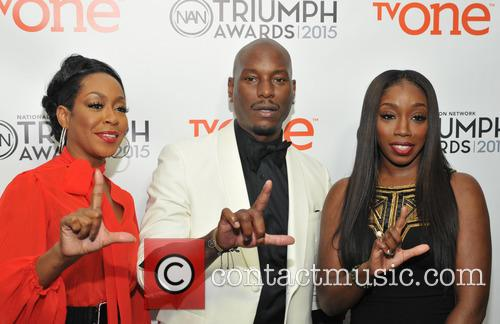 Tichina Arnold, Tyrese Gibson and Estelle 1