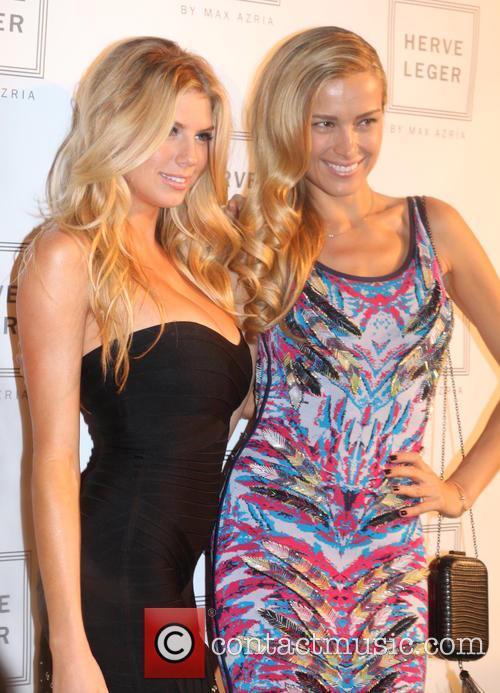 Charlotte Mckinneny and Petra Nemcova 1
