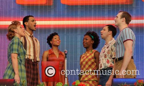 Cast Of The West End Show Memphis 3