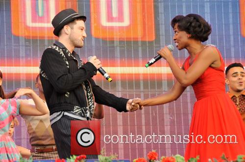 Matt Cardle and Beverley Knght 1