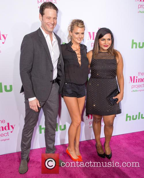 Ike Barinholtz, Eliza Coupe and Mindy Kaling 1
