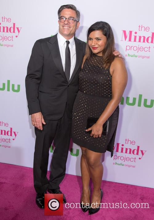 Michael Spiller and Mindy Kaling 2