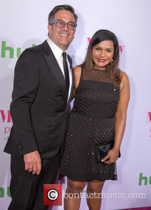 Michael Spiller and Mindy Kaling 1