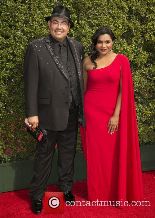 Salvador Perez and Mindy Kaling 1