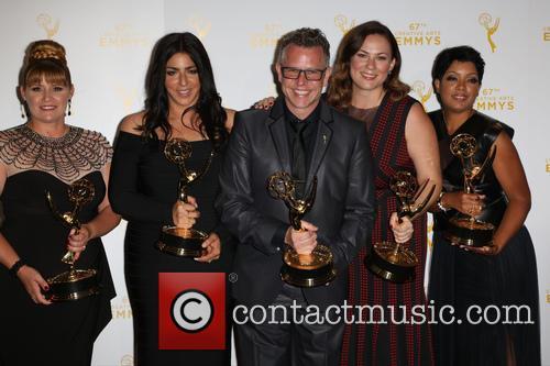 Daina Daigle, From Left, Michelle Ceglia, Monte C. Haught, Amy Wood and Sherri B. Hamilton 2