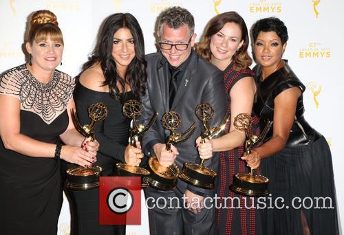Daina Daigle, From Left, Michelle Ceglia, Monte C. Haught, Amy Wood and Sherri B. Hamilton 1