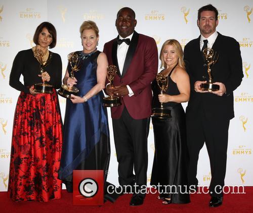 Shelby Stone, Lili Fini Zanuck, Shakim Compere, Randi Michel and Ron Schmidt 1