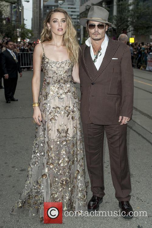 Amber Heard and Johnny Depp 2
