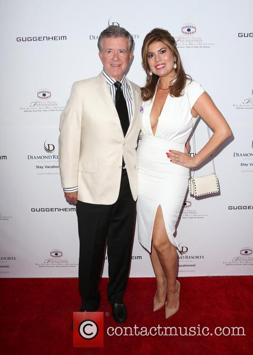 Alan Thicke and Tanya Callau 4