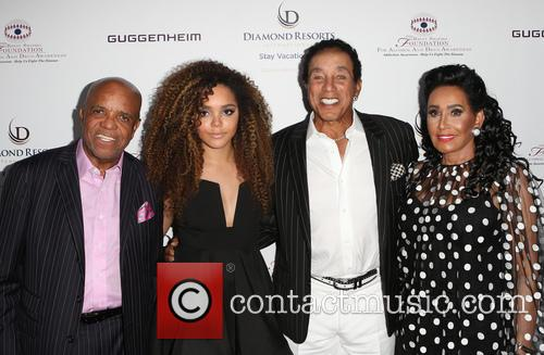 Berry Gordy, Mahogany Cheyenne Gordy, Smokey Robinson and Frances Glandney 4