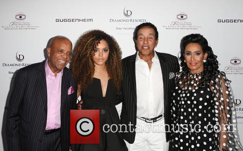 Berry Gordy, Mahogany Cheyenne Gordy, Smokey Robinson and Frances Glandney 5