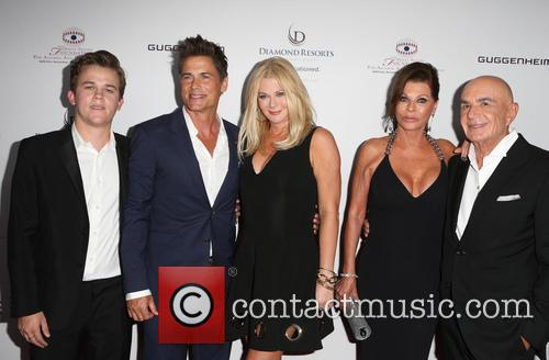 Rob Lowe, Sheryl Berkoff, Matthew Edward Lowe, Linell Shapiro and Robert Shapiro 2