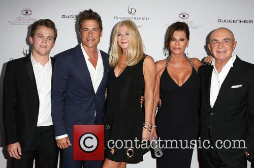 Rob Lowe, Sheryl Berkoff, Matthew Edward Lowe, Linell Shapiro and Robert Shapiro 1