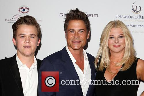 Rob Lowe, Sheryl Berkoff and Matthew Edward Lowe 3