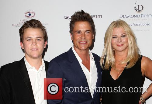 Rob Lowe, Sheryl Berkoff and Matthew Edward Lowe 4
