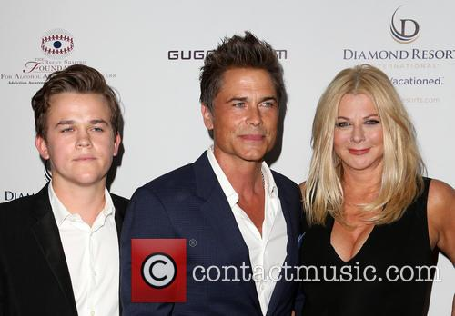 Rob Lowe, Sheryl Berkoff and Matthew Edward Lowe 1